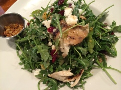 Grilled Chicken Arugula Salad