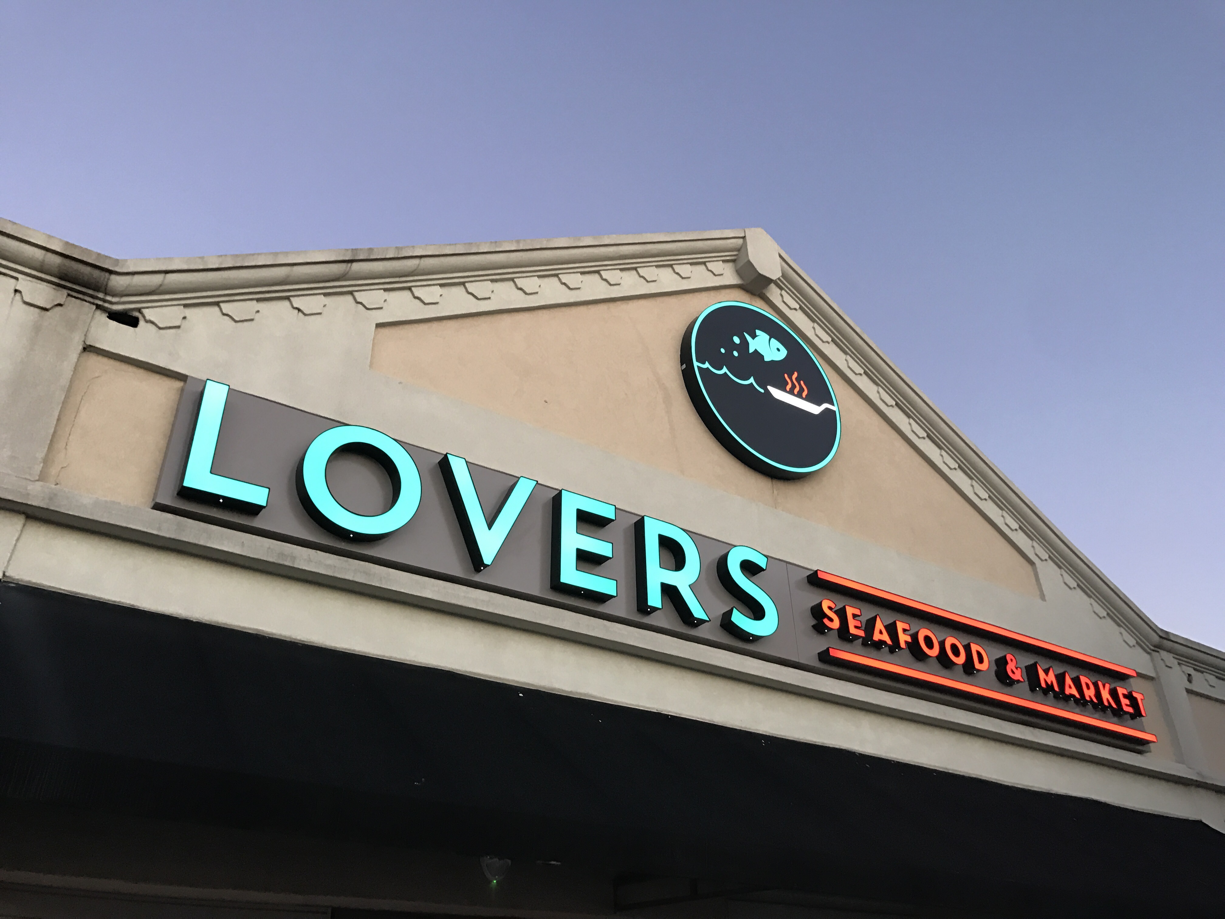 Lovers seafood and market dallas menu